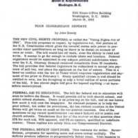 Your Congressman Reports: New Civil Rights Proposal&lt;br /&gt;<br />