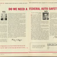 August 1966, Article &amp;quot;Do We Need A Federal Auto Safety Law?&amp;quot;&lt;br /&gt;<br />
