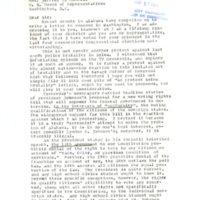Correspondence, Constituent from Piedmont, California with Representative Jeffery Cohelan