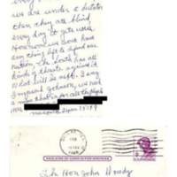 Postcard from Mesquite with Reply&lt;br /&gt;<br />