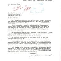 Letter from National Automobile Dealers Association to Senator Winston Prouty&lt;br /&gt;<br />