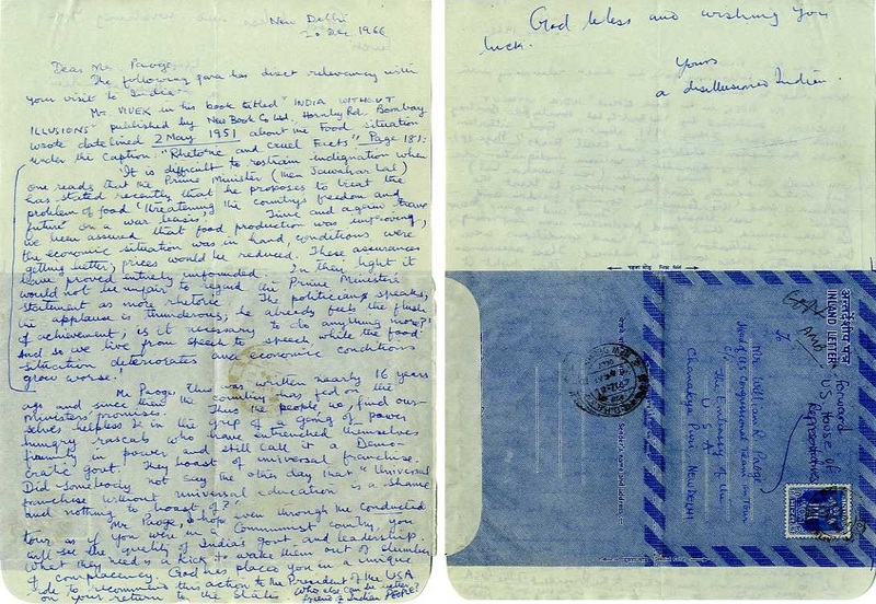 Letter from a &#039;Disillusioned Indian&#039;<br /><br />
