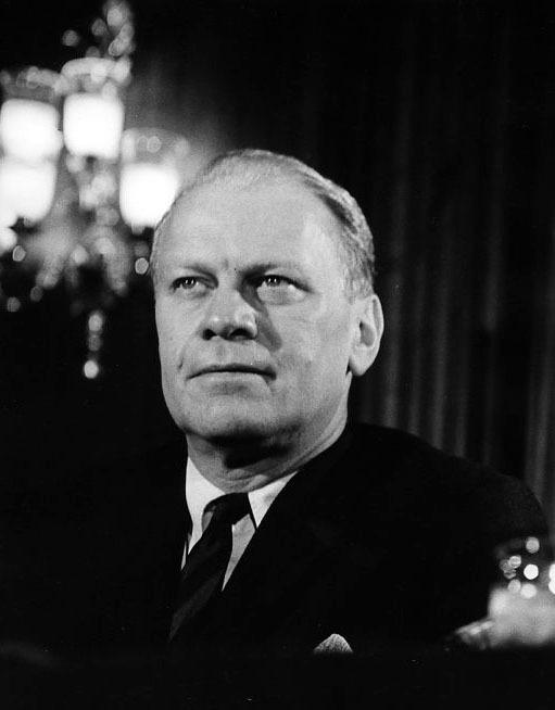 Photograph of Representative Gerald R. Ford