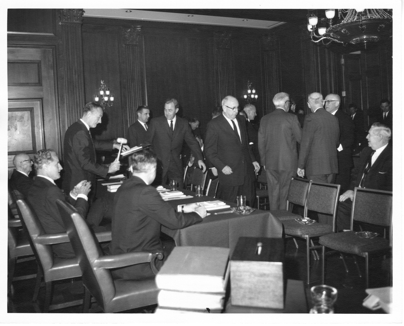 Photograph of House Judiciary Committee hearing on presidential succession
