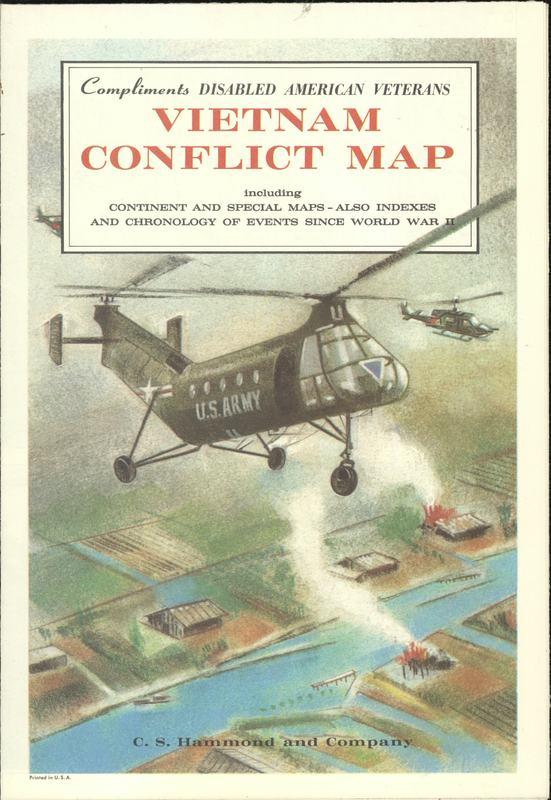 Vietnam Conflict Map