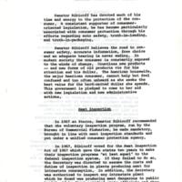 Senator Abraham Ribicoff&#039;s involvement in consumer protection legislation<br /><br />