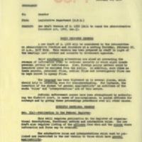 New draft version of S. 1666 memorandum