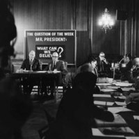 Photograph of the Joint Senate-House Republican Leadership press conference